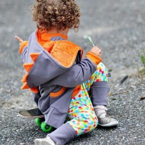 Jacket PUNK Orange