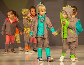 PIXELS! collection fashion show