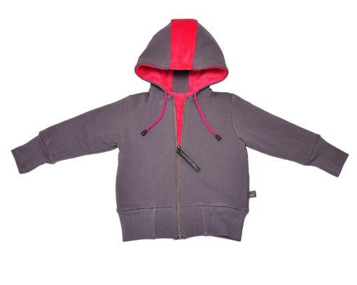 PUNK double-sided jacket watermelon+grey