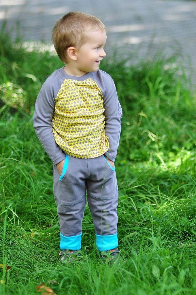 PIXELS! longsleeve & HANDYMAN pants