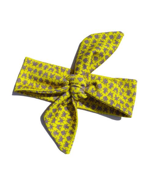 Headband INVADERS yellow