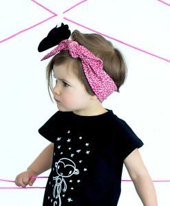 headband pink m02