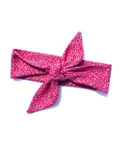 headband pink organic cotton