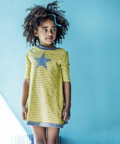 tunic dress A dress star organic cotton